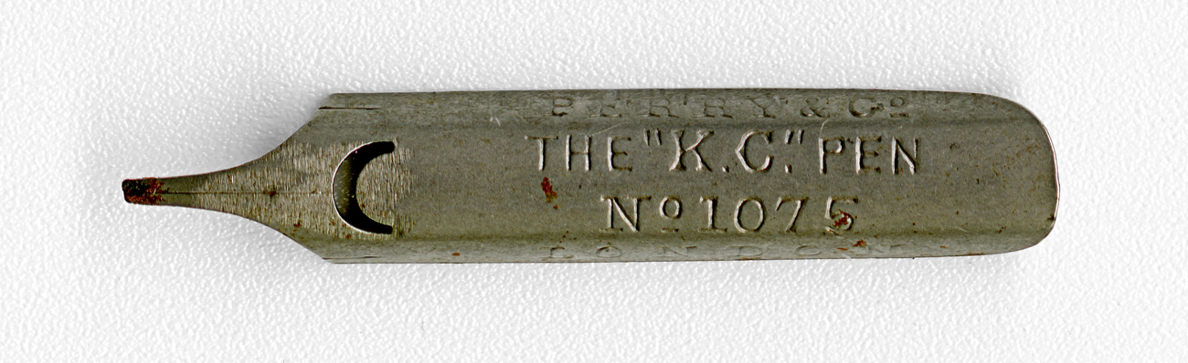 PERRY&Co THE K.C.. PEN №1075 London