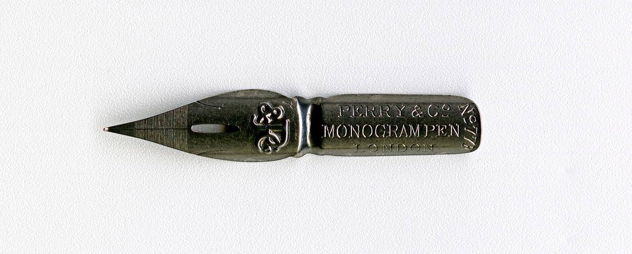 PERRY&Co MONOGRAM PEN LONDON №77 F P&Co