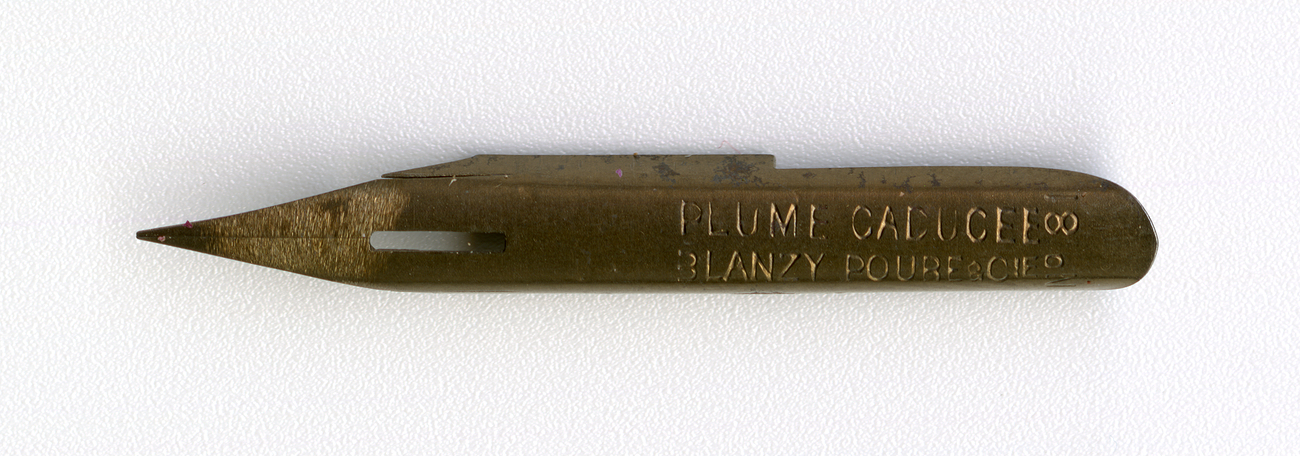 PLUME CADUCEE BLANZY POURE&Cie №81 Br