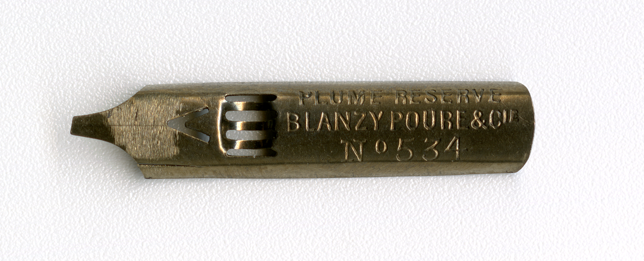 PLUME RESERVE BLANZY POURE&Cie №534