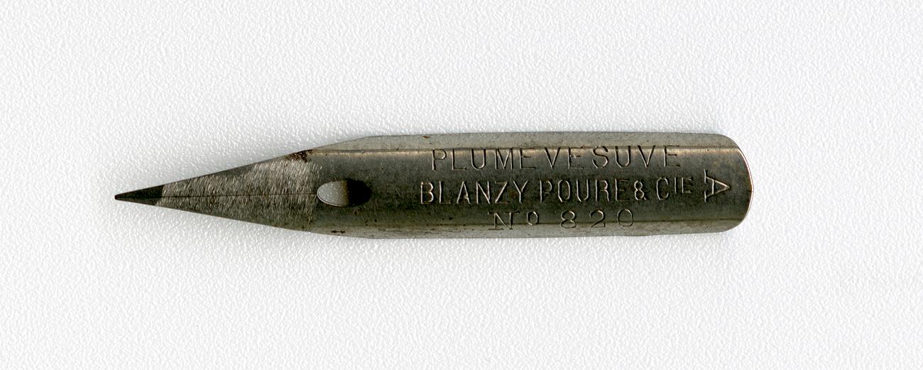 PLUME VESUVE BLANZY POURE&Cie №820 A нет в каталоге