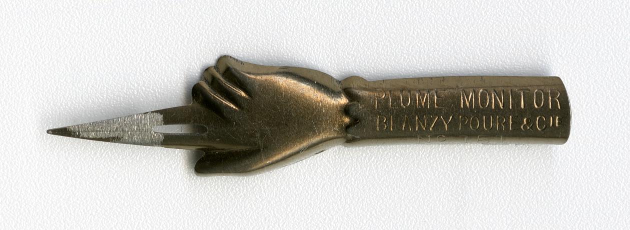 Plume MONITOR BLANZY POURE&Cie №151 Bronz