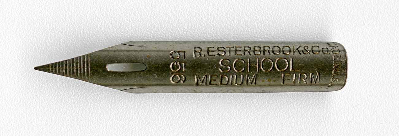 R.ESTERBROOK&Co SCHOOL MEDIUM FIRM MADE IN U.S.A. 556