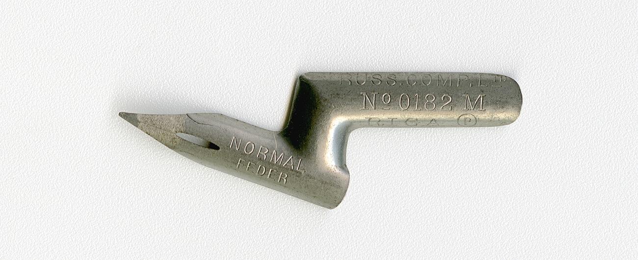 RUSS. COMP. Ltd RIGA NORMAL FEDER №0182 M