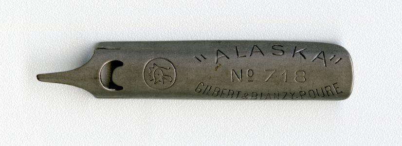 ALASKA №718 GILBERT&BLANZY-POURE Cock