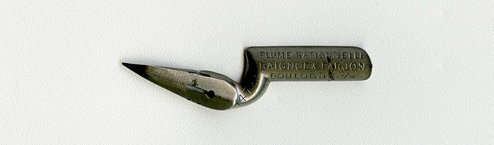 BAIGNOL & FARJON BOULOGNE S-m PLUME RATIONNELLE EF 1147 Cat