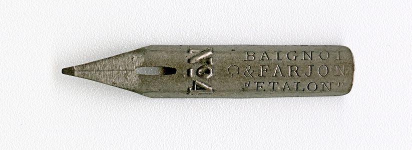 BAIGNOL & FARJON ETALON №4 G 582 Cat