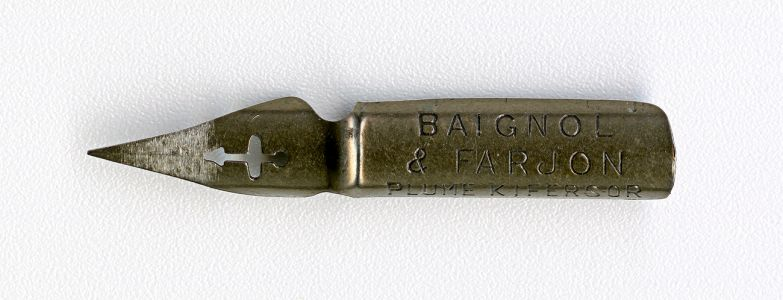 BAIGNOL&FARJON PLUME KIFERSOR 321 Cat