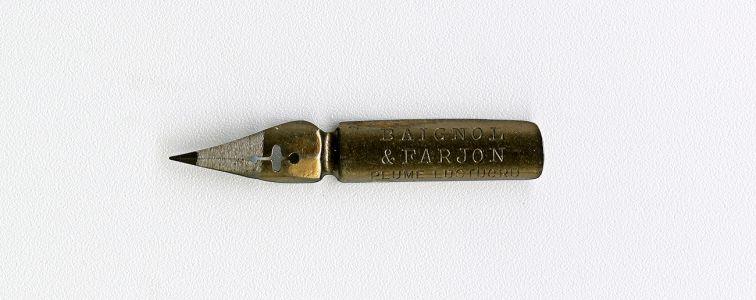 BAIGNOL & FARJON PLUME LUSTUCRU 410 Cat