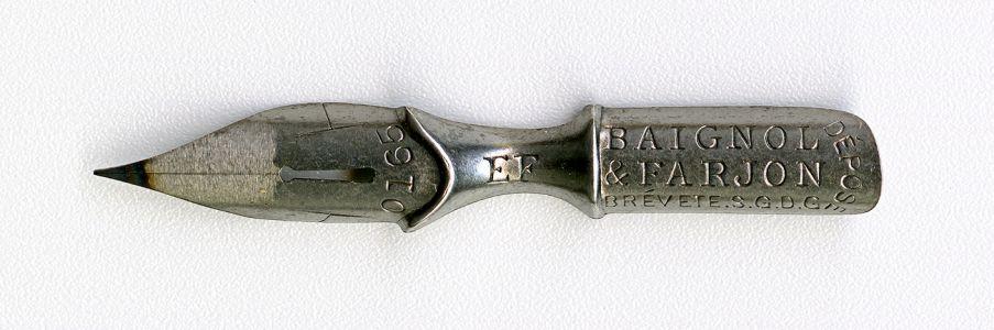 BAIGNOL & FARJON BREVETE.S.G.D.G DEPOSE 0165 EF