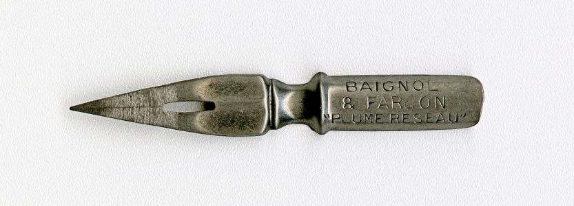 BAIGNOL & FARJON PLUME RESEAU №644 Cat