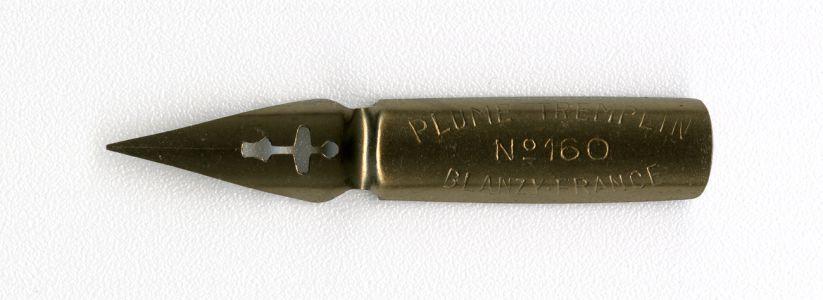BLANZY- FRANCE №160 PLUME TREMPLIN