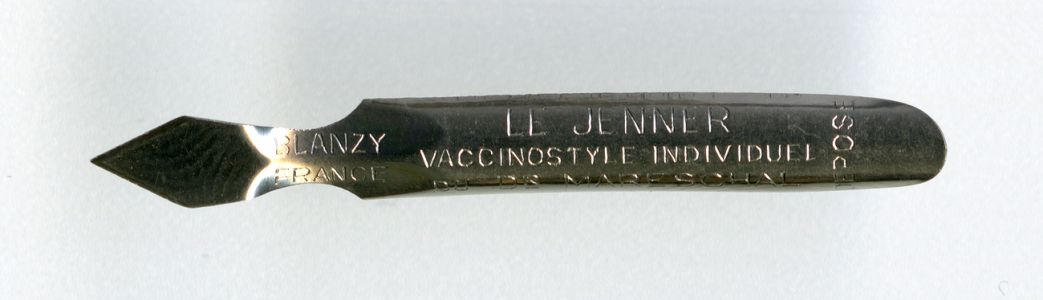 BLANZY FRANCE LE JENNER VACCINOSTYLE Du Dr MARESCHAL