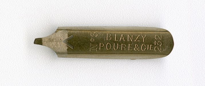 BLANZY POURE&Cie 232 №3 2