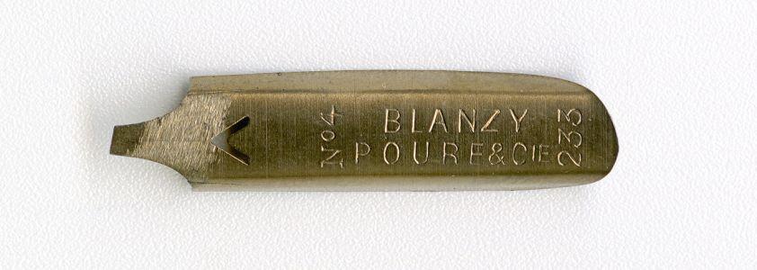 BLANZY POURE&Cie 233 №4