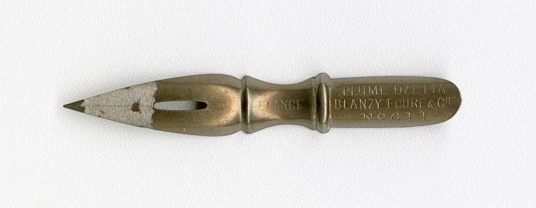 BLANZY POURE&Cie PLUME DZETTA FRANCE №611 Br