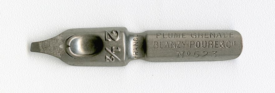 BLANZY POURE & Cie PLUME GRENADE FRANCE 2 1.2 №523