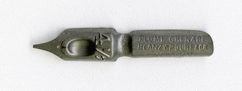 BLANZY POURE & Cie PLUME GRENADE FRANCE 4 1.2 №527