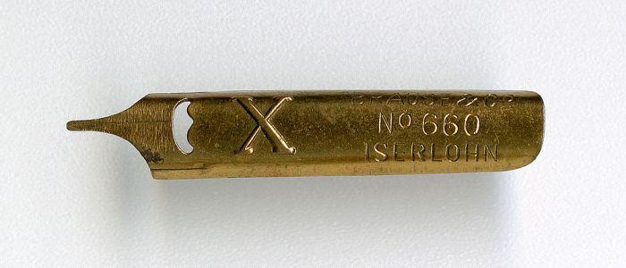 BRAUSE&Co ISERLOHN №660 X Gold