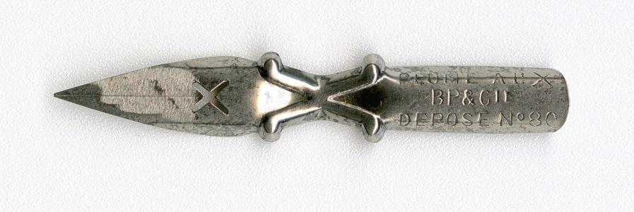 B P&Cie Plume AL X DEPOSE №80 2