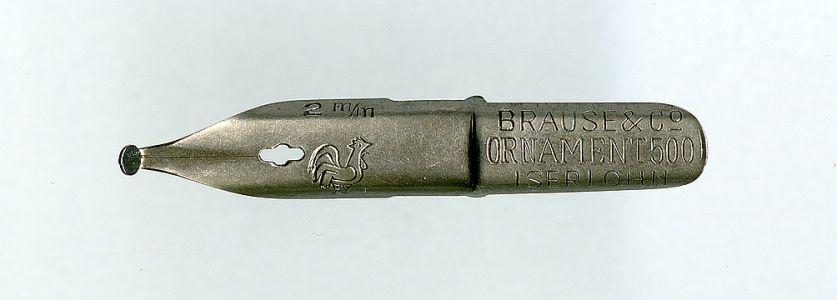 Brause&CoORNAMENT500 ISERLOHN 1