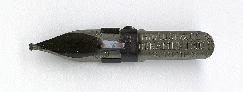 Brause&CoORNAMENT500 ISERLOHN GERMANY 1 1 2 Cock