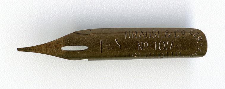 Brause&Co ASERLOHN GERMANY №107 1