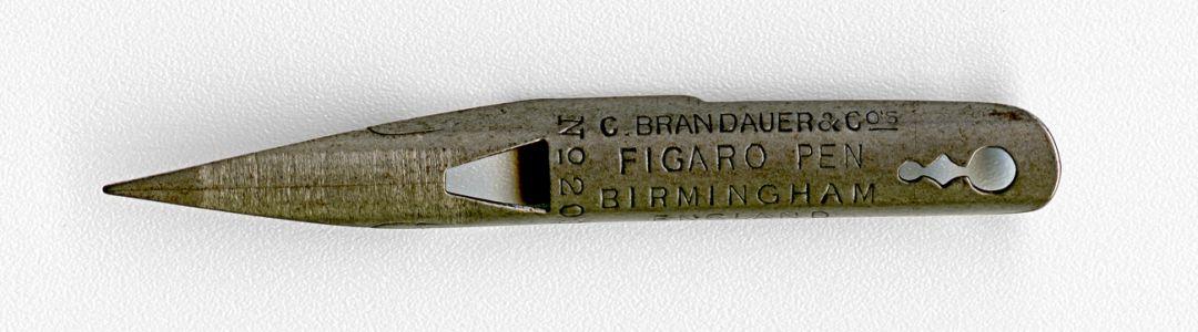 C.BRANDAUER&Co`s FIGARO PEN BIRMINGHAM ENGLAND №20