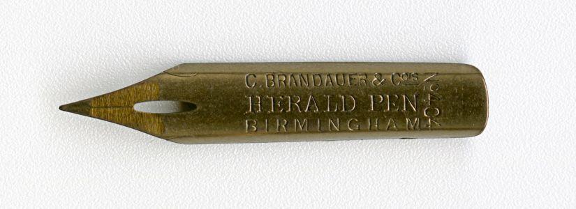 C.BRANDAUER&Co`s HERALD PEN Birmingham №404