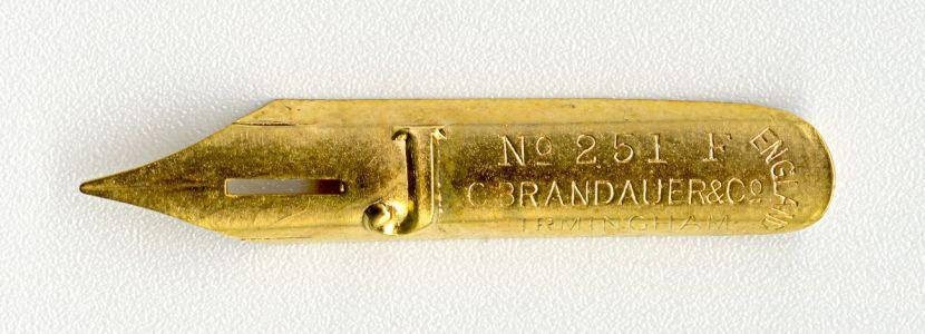 C.BRANDAUER&Co`s J №251 F Birmingham England