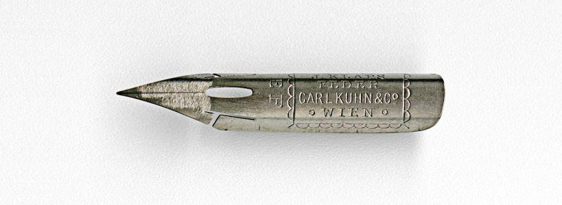 CARL KUHN & Co J. KLAPS FEDER WIEN EF