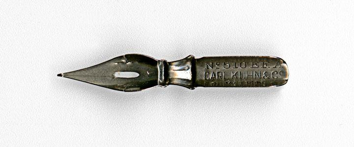 CARL KUHN & Co WIEN №510 EF A внутренний штамп