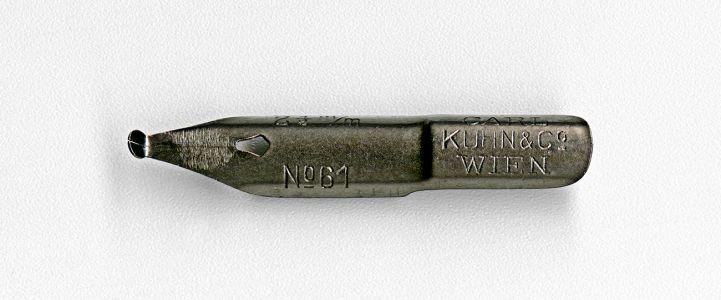 CARL KUHN & Co WIEN №61 2 1 2mm