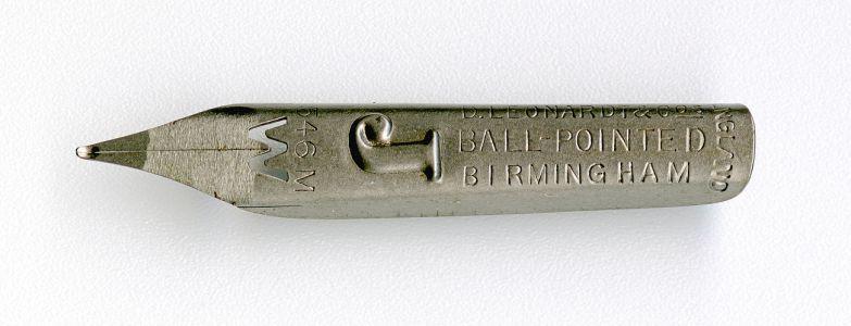 D.LEONARDT&Co BALL-POINTED BIRMINGHAM ENGLAND M №546 разрез W J