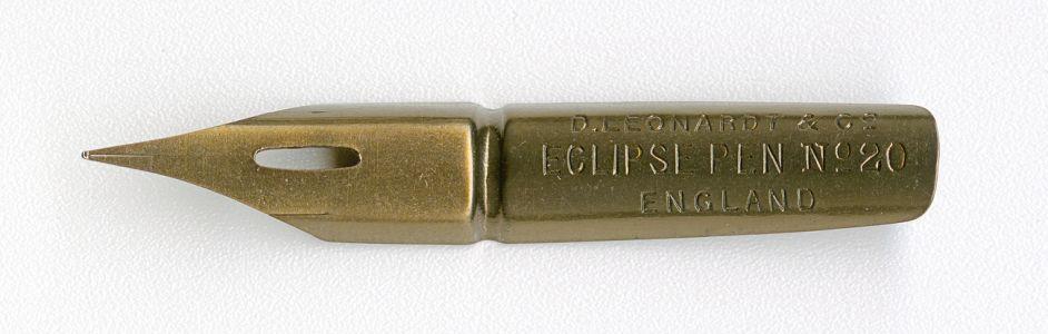 D.LEONARDT&Co ECLIPSE PEN №20 ENGLAND