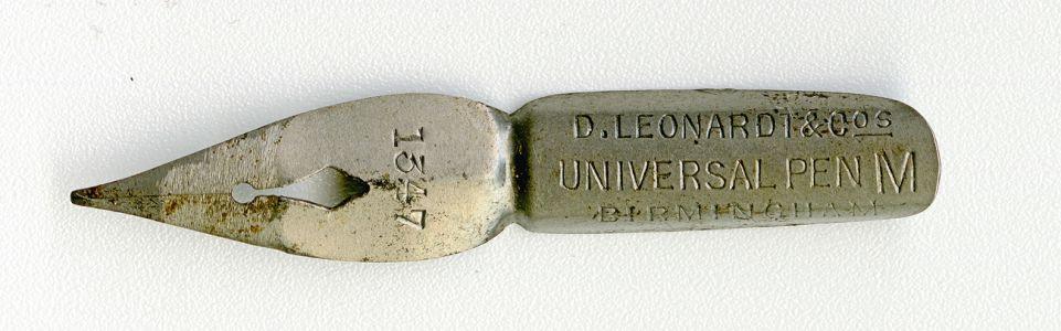 D.LEONARDT&Co UNIVERSAL PEN BERMINGHAM M №1347