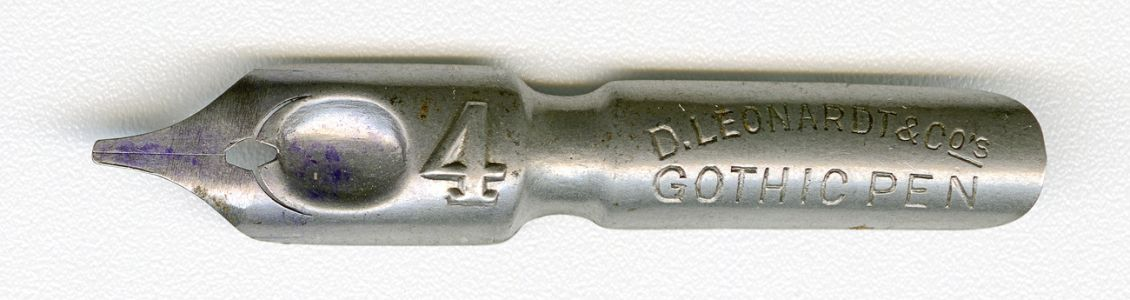 DLeonardt&Co GOTIC PEN №4