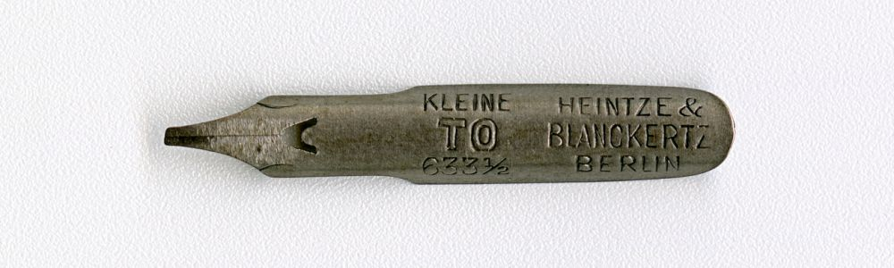 HEINTZE & BLANCKERTZ BERLIN KLEINE TO 633 1 2