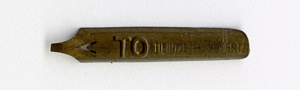 HEINTZE & BLANCKERTZ BERLIN TO 63