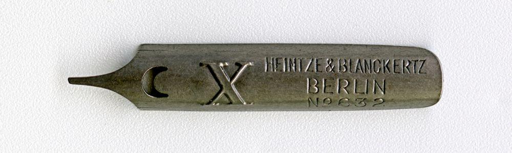 HEINTZE & BLANCKERTZ BERLIN №632 X