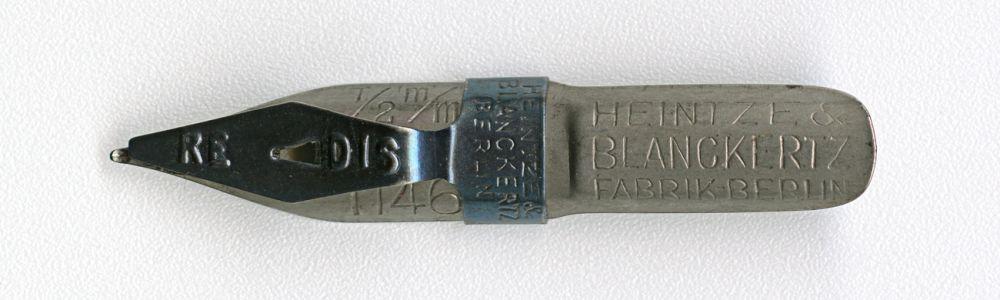 HEINTZE & BLANCKERTZ FABRIK BERLIN 1146 1-2mm