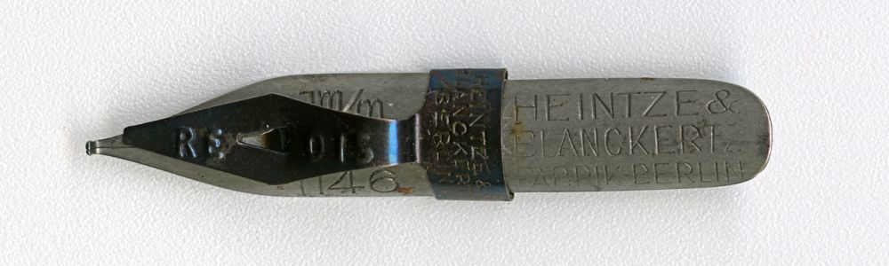 HEINTZE & BLANCKERTZ FABRIK BERLIN REDIS 1146 1mm