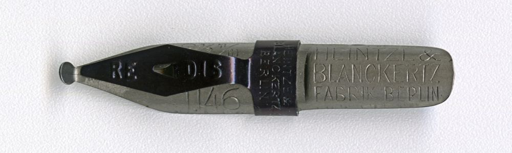 HEINTZE & BLANCKERTZ FABRIK BERLIN REDIS 1146 2 1-2mm
