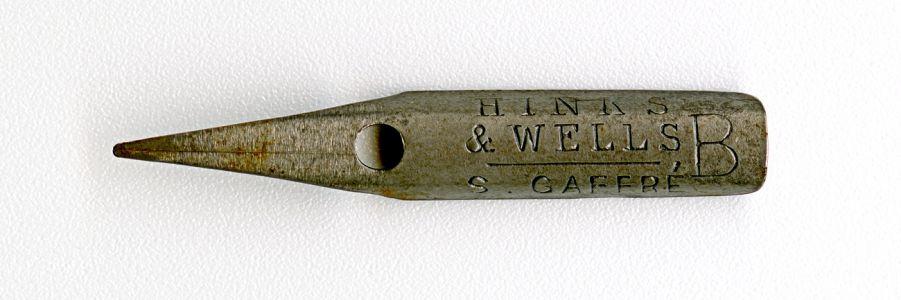 HINKS & WELLS GAFERE B