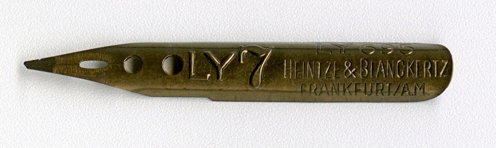 Heintze & Blanckertz FRANKFURT AM LY 695 LY7