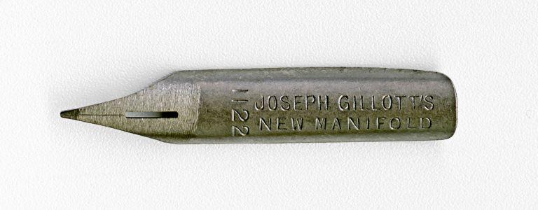 JOSEPH GILLOTT`S NEW MANIFOL 1122