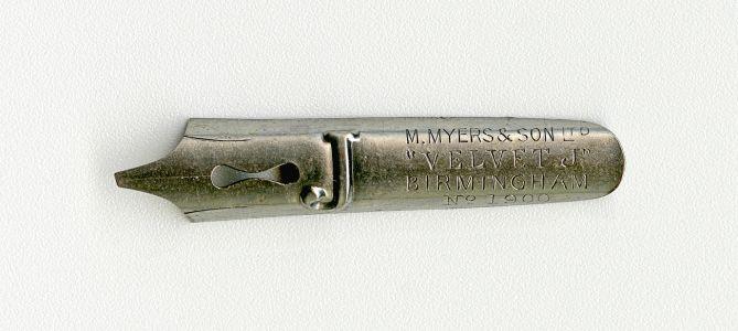 M.MYERS&SON Ltd VELVET J BIRMINGHAM №1900