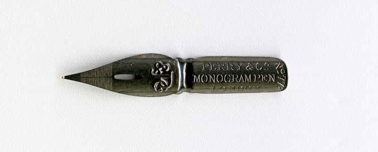 PERRY&Co MONOGRAM PEN LONDON №77 F P&Co