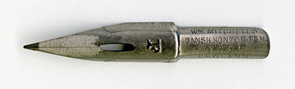 W.M.MITCHELL`S DANSK KONTOR PEN F 0737 ENGLAND