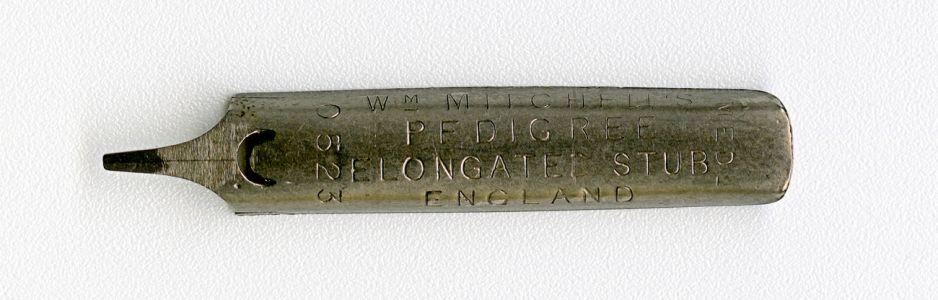 W.M.MITCHELL`S PEDIGREE ELONGATE STUB ENGLAND MED 0523